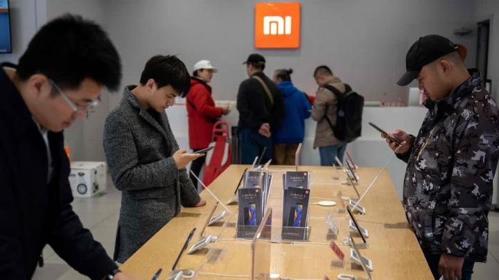 Imagem loja Xiaomi na China