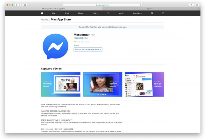 Facebook Messenger made it to the Mac App Store, but only for a few!