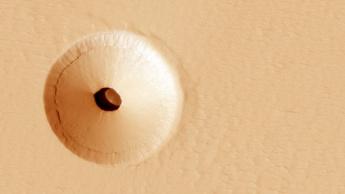 Imagem superfície do planeta Marte
