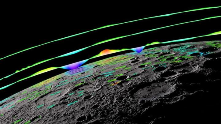 Imagem Mercúrio e o seu campo magnético