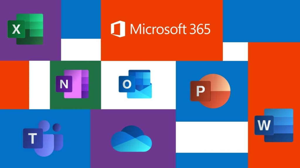 Microsoft 365 Office software mudança