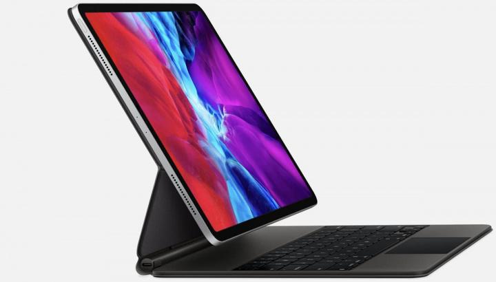 Imagem do novo iPad Pro de 11 polegadas com novo teclado