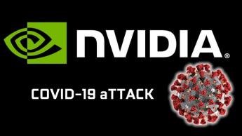 Imagem ilustração desafio nVidia para combater o Covid-19