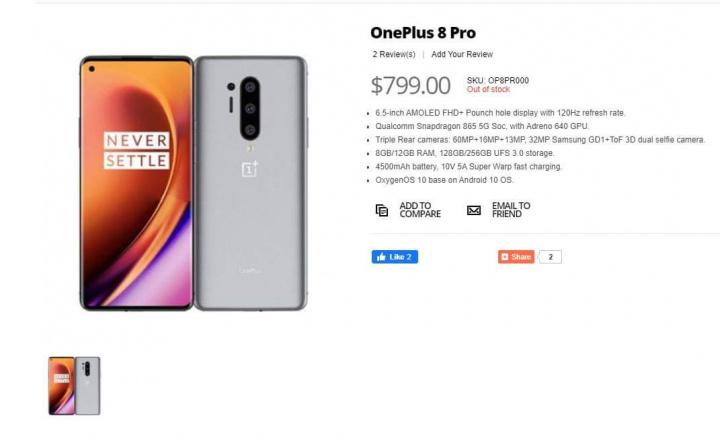 oneplus 8 pro preco