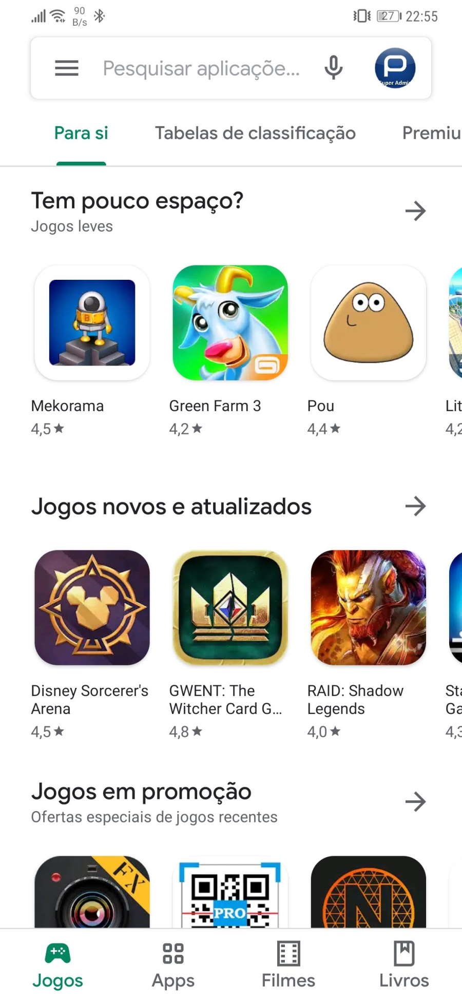 Play Store Android Google utilizadores apps