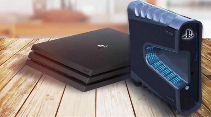 Imagem de ilustração consola PS5