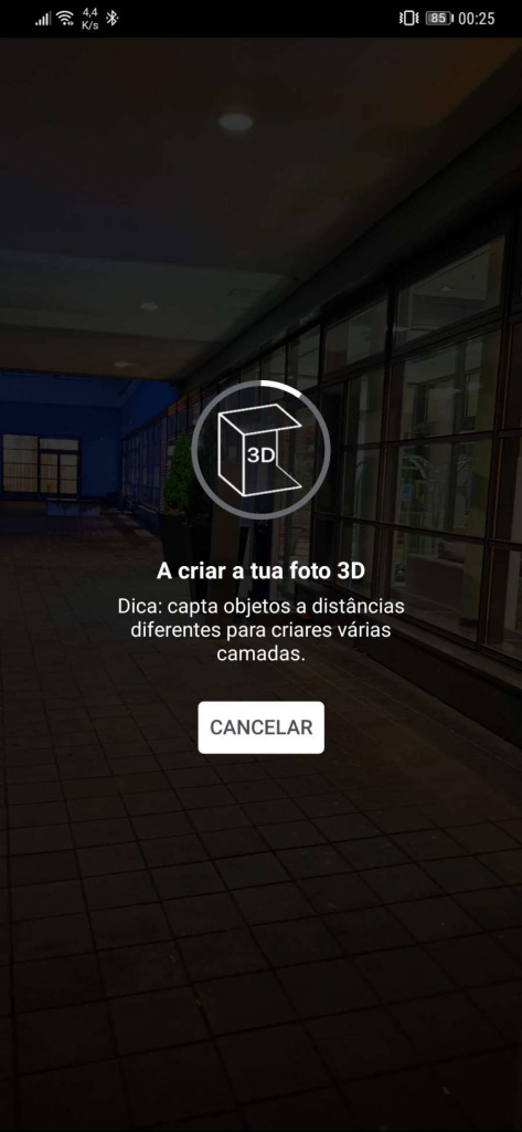 Facebook foto 3D publicar imagem