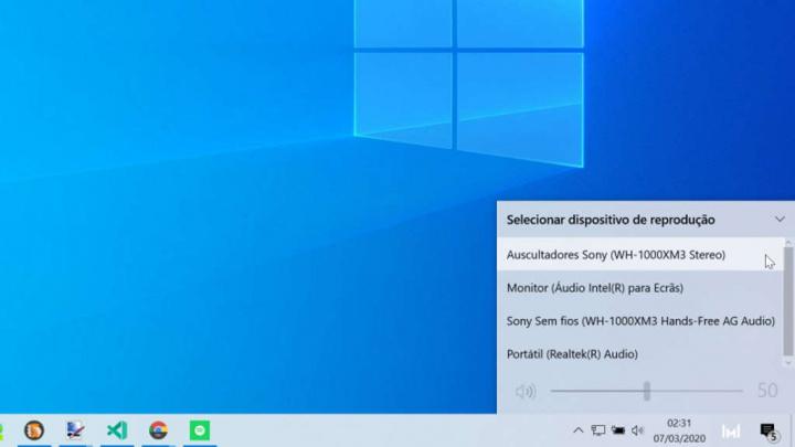 Windows 10 dispositivos áudio nome mudar