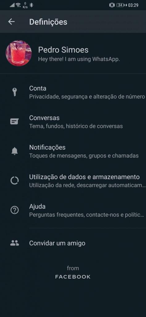 WhatsApp notificações configurações alertas mensagens