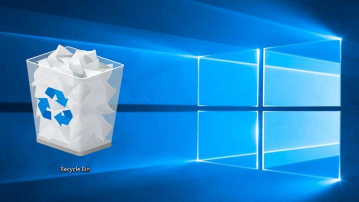 Reciclagem Windows 10 esvaziar forma segura