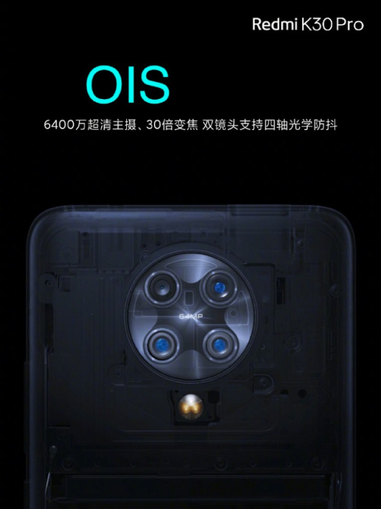 Redmi K30 Pro and Pro Zoom presented with weight arguments at a price ...