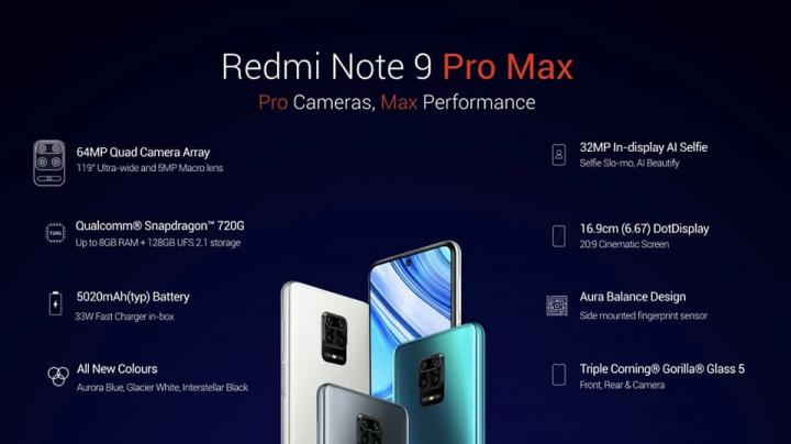 Imagem Xiaomi Redmi Note 9 Max