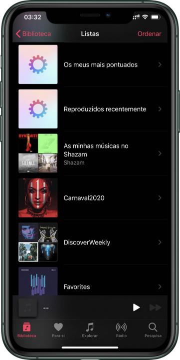 Imagem app Shazam com Apple Music