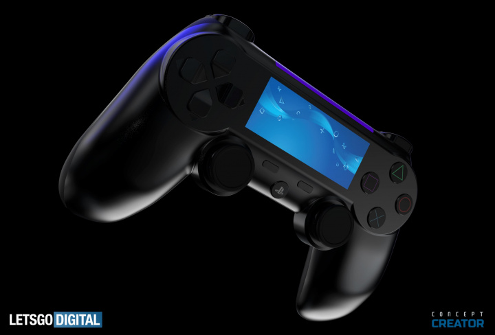 Imagem comando da consola PS5 da Sony
