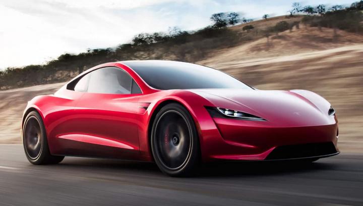 Imagem Roadster da Tesla