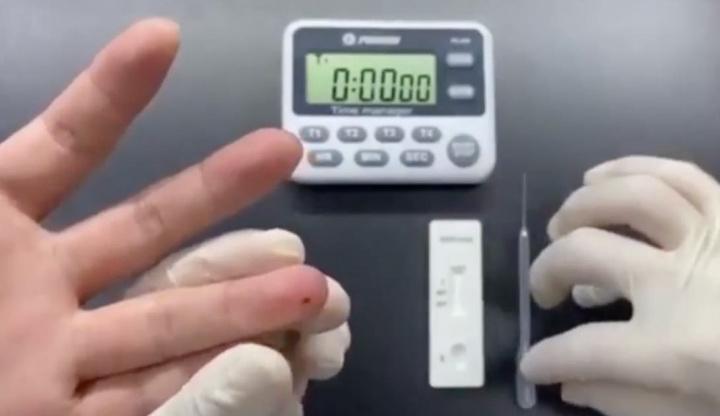 """COVID-19: Já há testes para """"usar em casa"""" que demoram 15 minutos"""