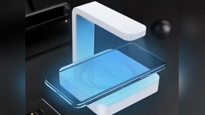 Saiba que tecnologia usar para diminuir o risco de contágio - Lâmpada esterilizadora UV com carregador sem fios