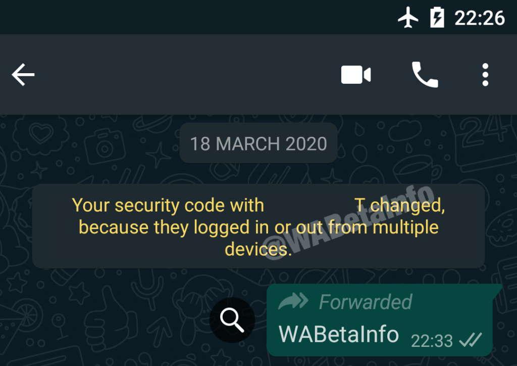 WhatsApp dispositivos Android mensagens smartphone