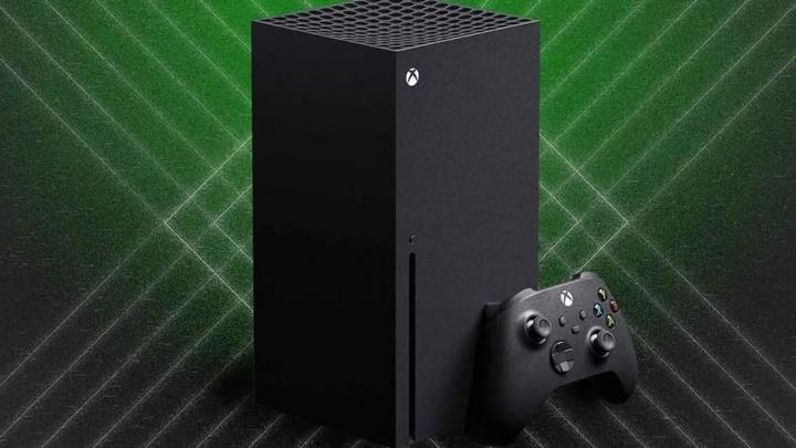 Imagem da consola de jogos Microsoft Xbox Series X