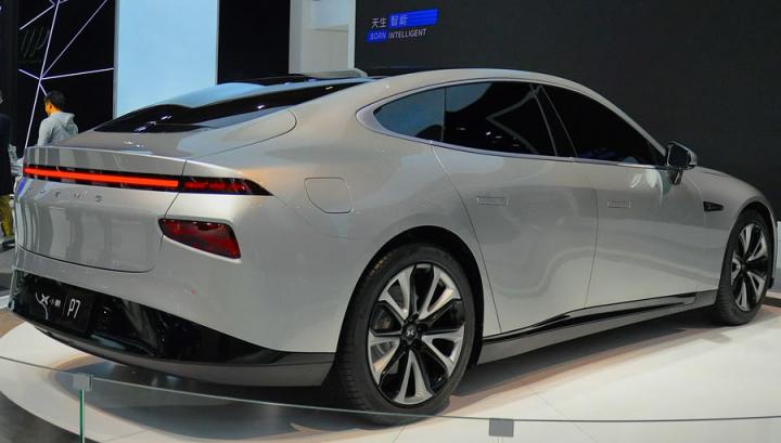 Imagem XPeng P7 que quer destronar o Model 3 da Tesla