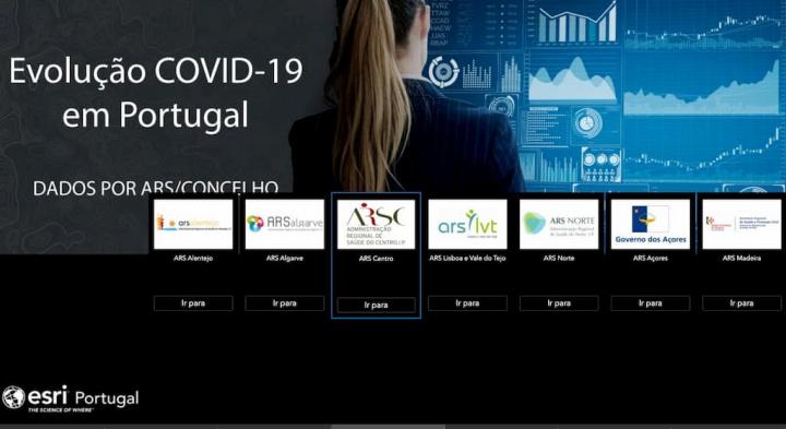 COVID-19 App: Agora com dados dos Concelhos de Portugal