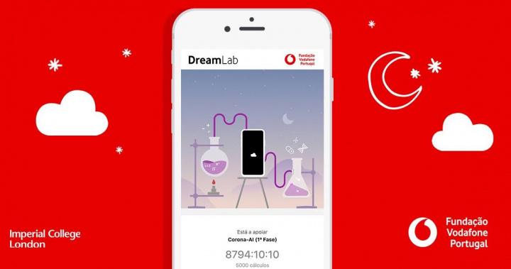 DreamLab: App da Fundação Vodafone para ajudar na investigação à COVID-19