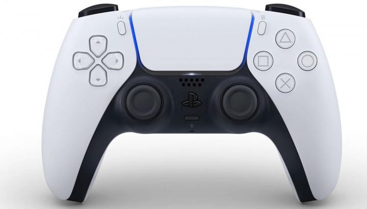 Imagem do comando sem fios da PlayStation 5, o DualSense