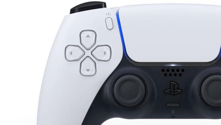 Imagem pormenor do comando da PS5