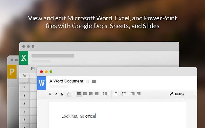 Editor do Office - Extensões para Google Chrome em tempo de quarentena