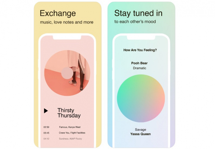 Tuned: the new experimental Facebook app is a chat for couples