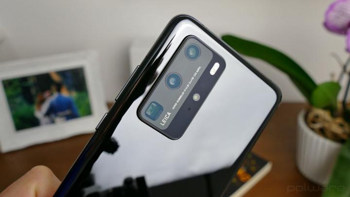 Câmara traseira do Huawei P40 Pro, com Zoom até 50 vezes