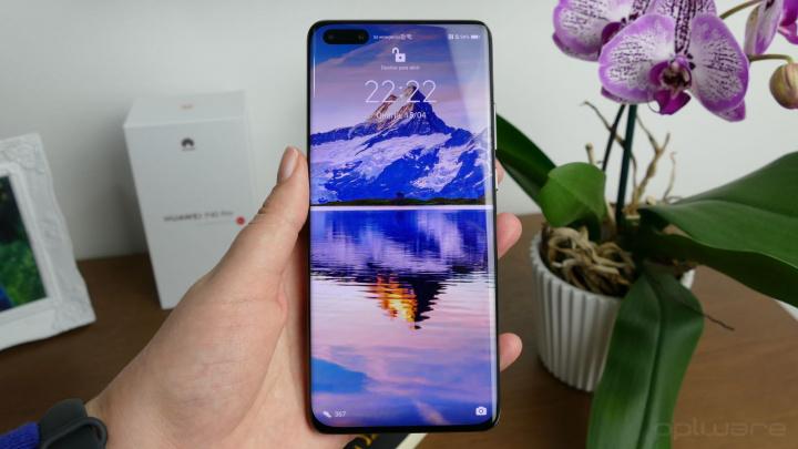 ecrã de desbloqueio do Huawei P40 Pro