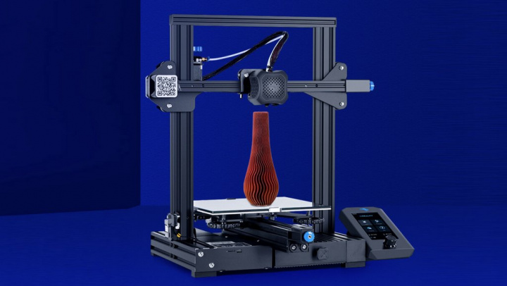 Impressora 3D Creality Ender-3 V2: ainda mais detalhe nos seus objetos