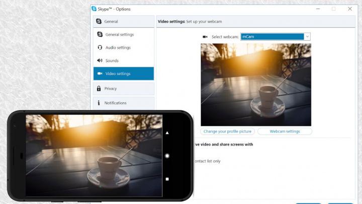 Iriun 4K Webcam for PC and Mac para o seu smartphone