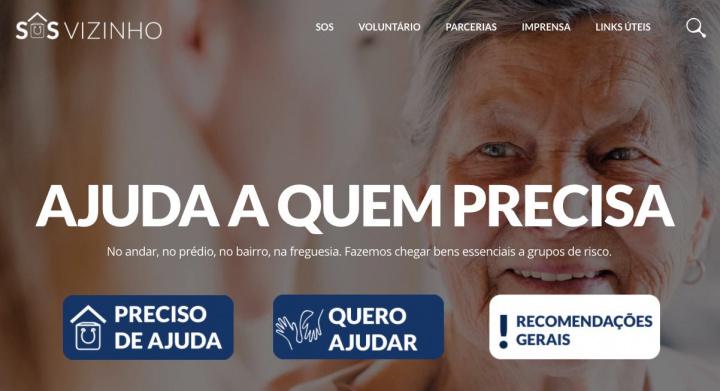 SOSvizinho: A plataforma para ajudar quem mais precisa