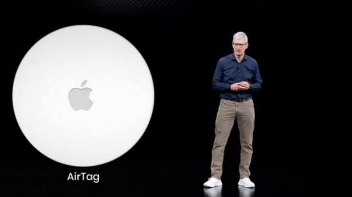 Imagem Apple dos AirTags