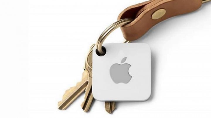 Imagem de conceito Apple AirTags