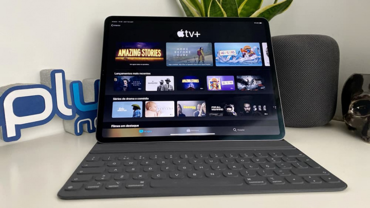 Imagem ipad Pro com Apple TV+