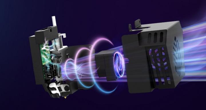 Impressora 3D Creality CR-6 SE - bico modular