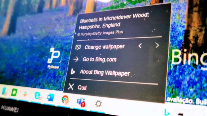 Bing imagens desktop Windows 10 app
