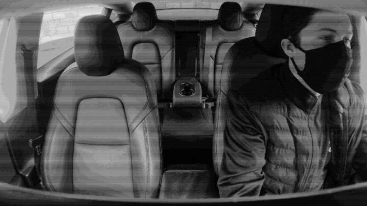 Tesla Elon Musk Model 3 robo-taxis câmara