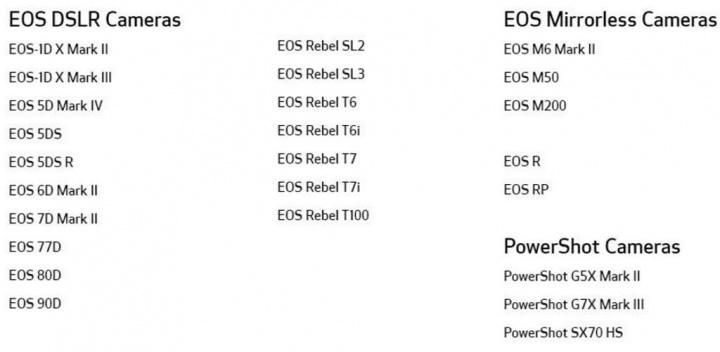 Canon máquina fotográfica webcam EOS