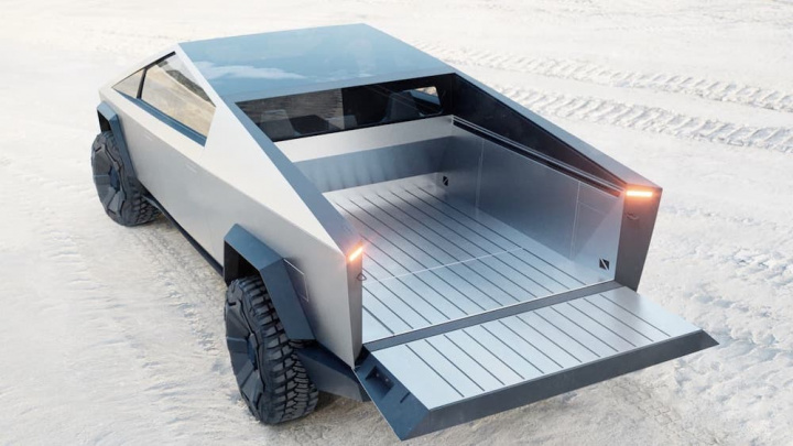 carrinha pickup Cybertruck