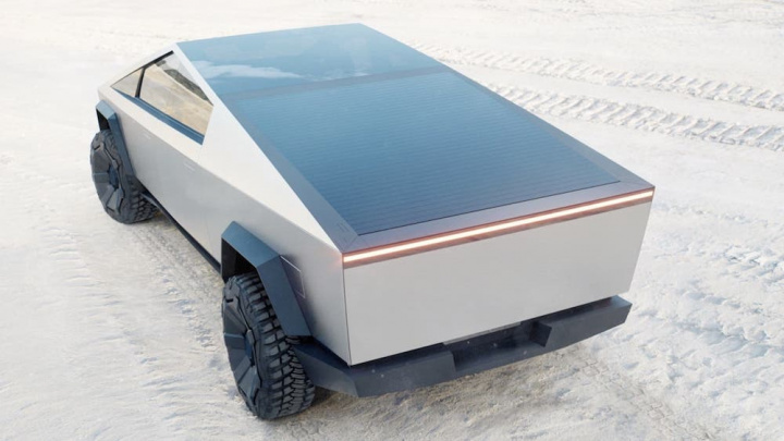 Imagem Tesla Cybertruck, a pick-up elétrica