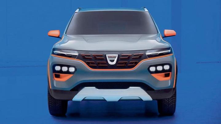 Imagem carro elétrico Dacia Spring, grupo Renault