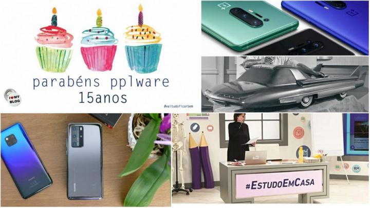 E os destaques tecnológicos da semana que passou foram... - Huawei, OnePlus, iPhone, Magalhães