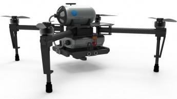 Imagem drone a célula de combistível a hidrogénio