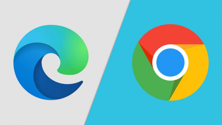 Edge Chrome Microsoft Google browsers