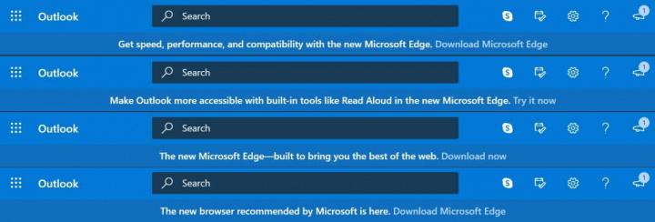Edge Chrome Microsoft Google browsers
