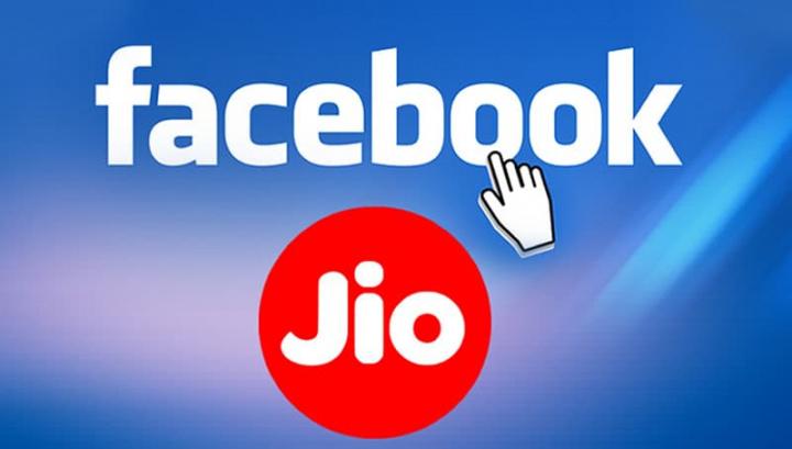 Imagem facebook com Jio Plataforms